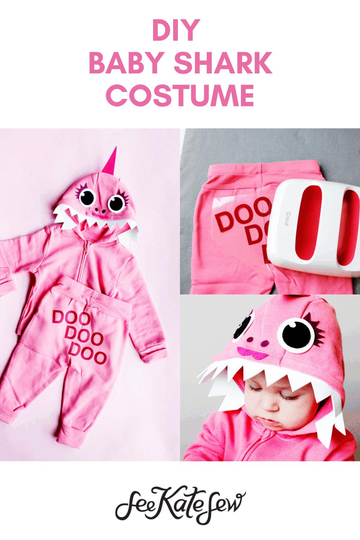 DIY Baby Shark Costume | DOO DOO DOO