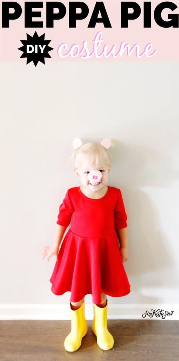 DIY Pig Peppa Costume