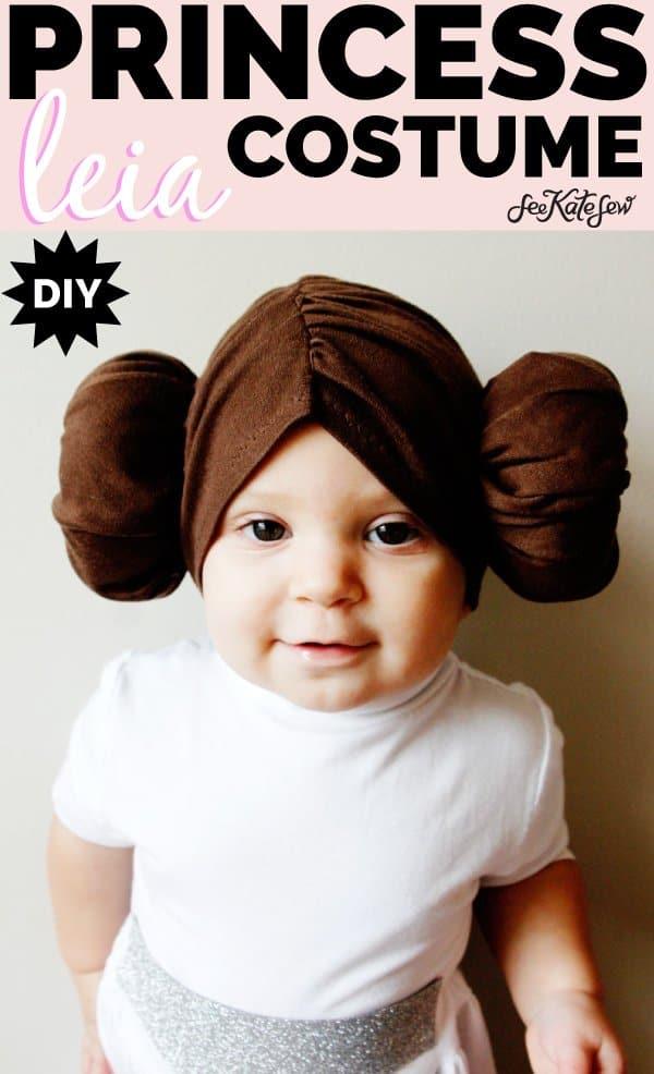 DIY Princess Leia Halloween Costume