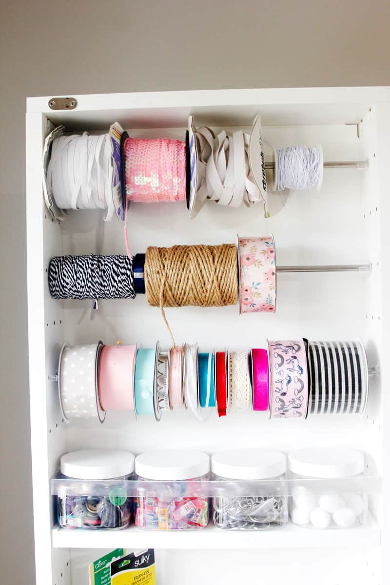 Organize your sewing room with The Dreambox: The Ultimate Craft Storage Solution! The Dreambox will change the way you sew! || See Kate Sew #sewingorganziation #organizationtips #dreambox #craftstoragesolutions #sewingstorage #craftstorage #seekatesew