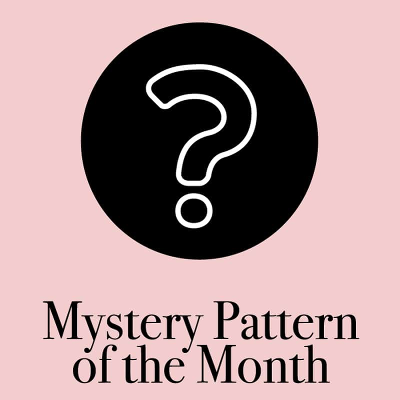 Pattern of the Month | With THREE new sewing patterns every month, you will always have a project ready to go! The surprise is half the fun, the sewing is the other half. With so many different subscription options, you can choose a plan that is perfect for you! || See Kate Sew #patternofthemonth #sewingpatterns #bagpatterns #quiltpatterns #mysterypatterns #seekatesew