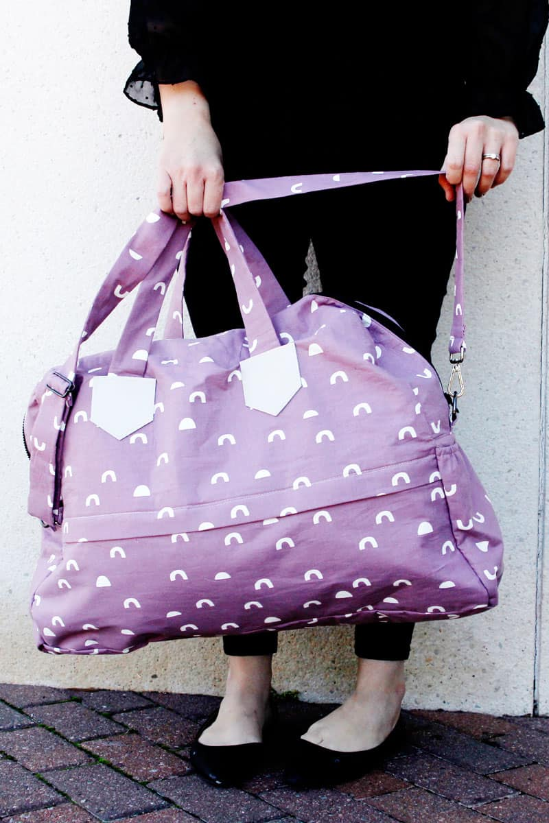 The Weekender Bag Sewing Pattern
