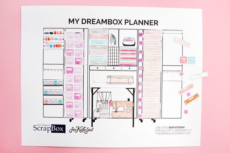 DreamBox Planner Printable - see kate sew