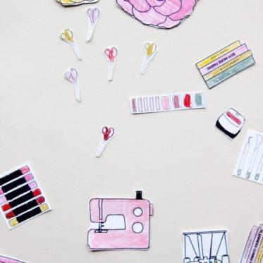 DreamBox Organizer Printable Accessories
