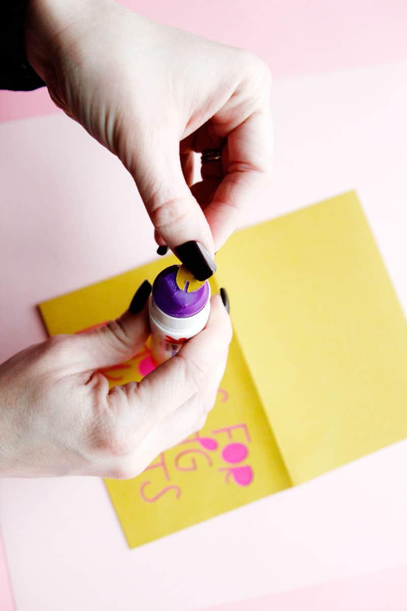 Quilt Valentine Card