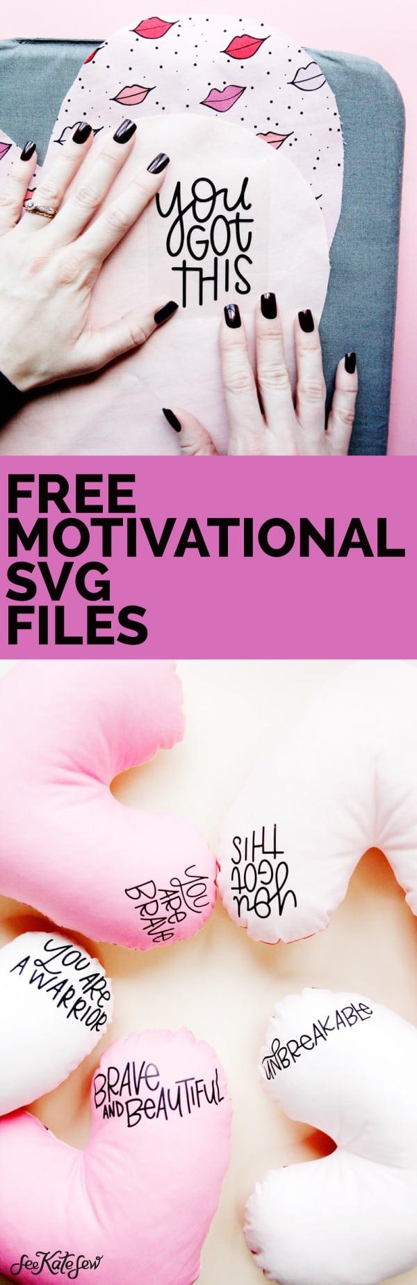 Motivational + Cancer SVG free downloads.