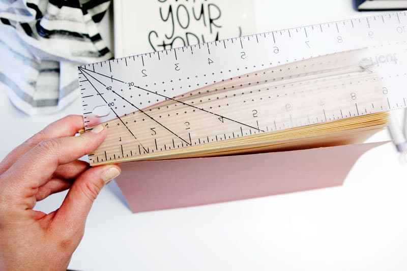 How to make a DIY Zipper Book Purse