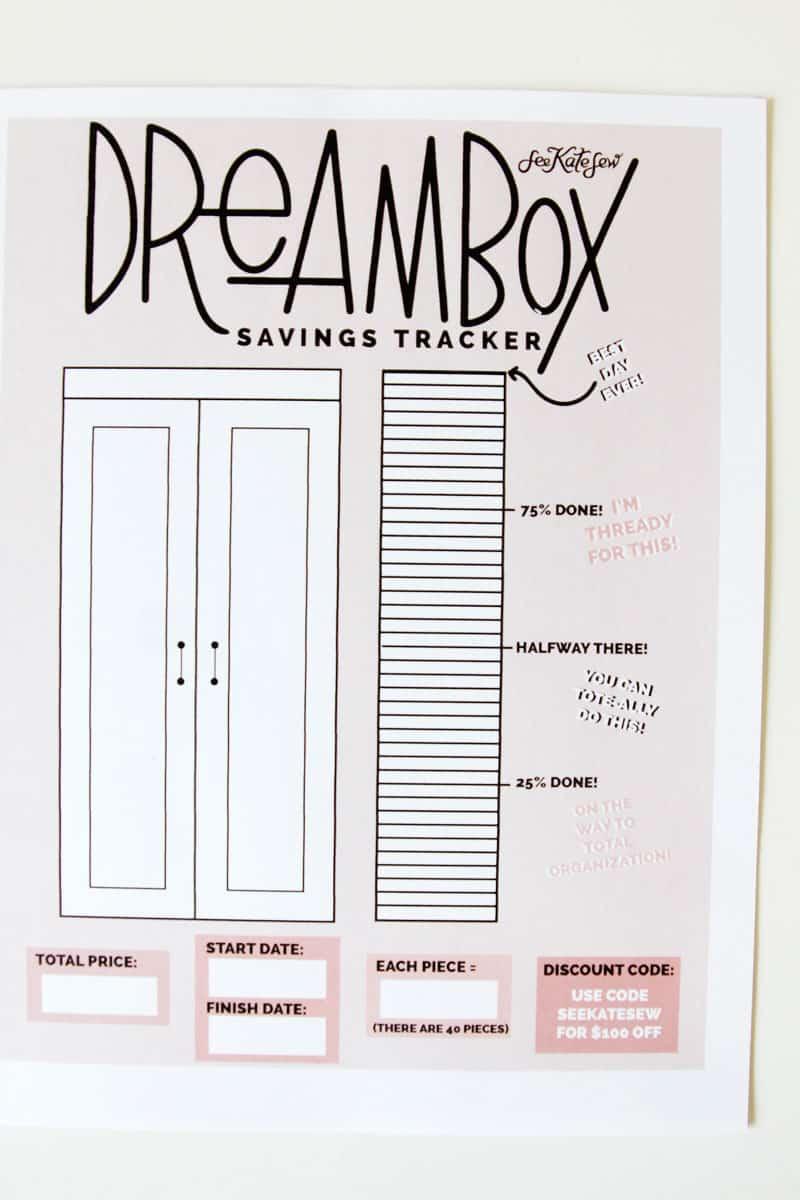 Create Room Dream Box Craft Cabinet