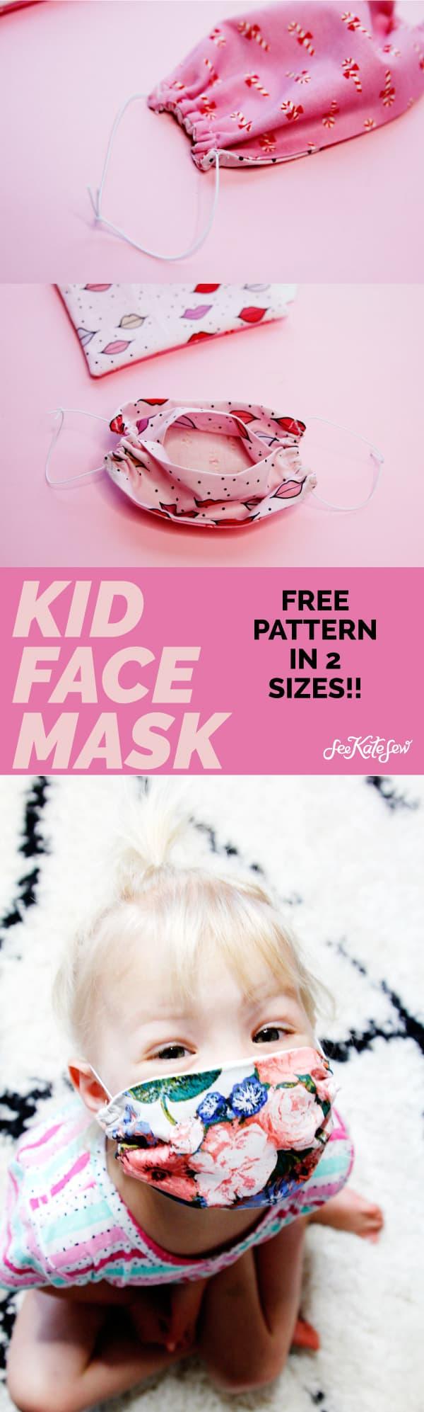 Download Kids Pattern Mask