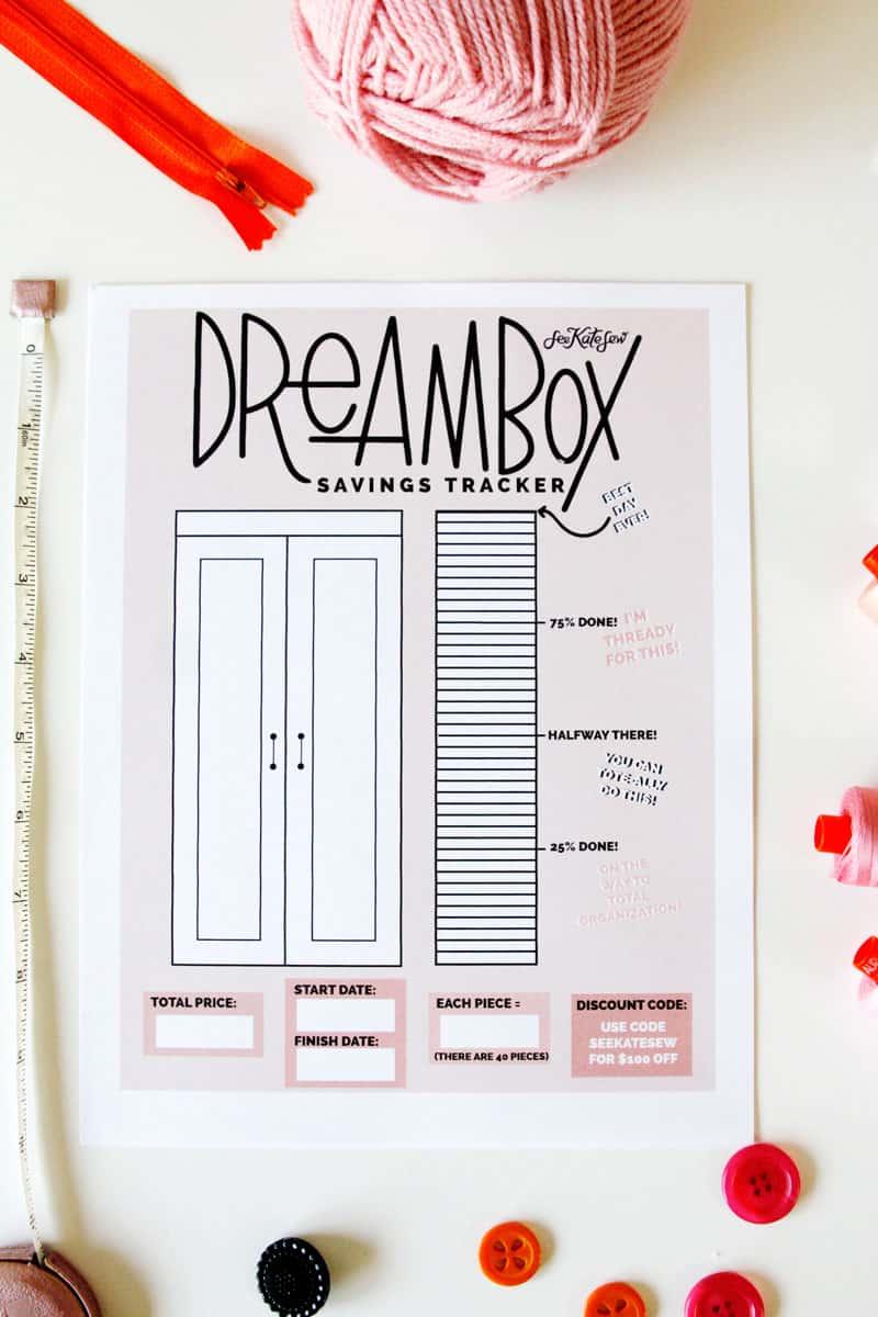 Dra0 Reasons I love my Dream Box craft cabinet