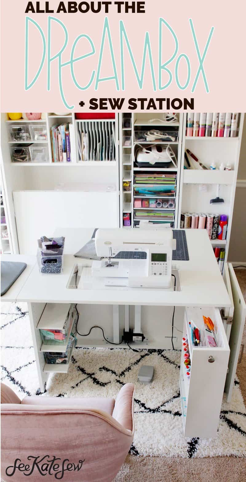 Recessed Sewing Machine Table