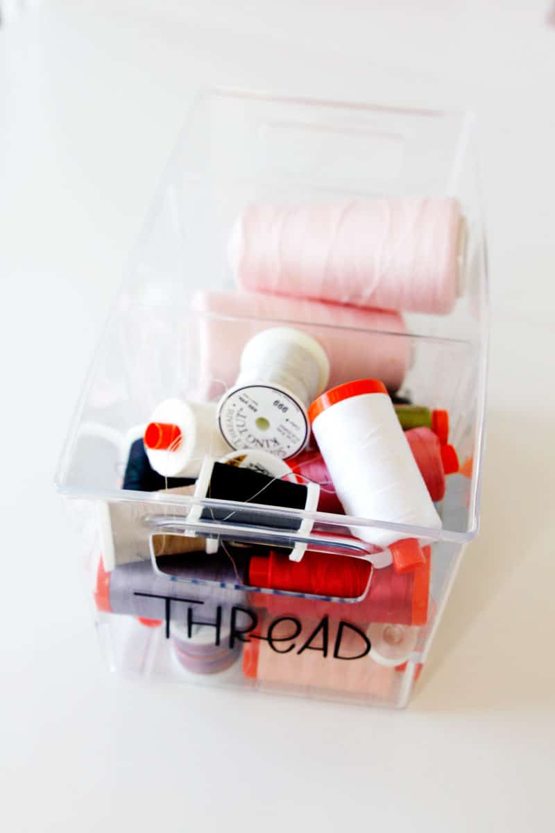 DreamBox Sewing Organization Ideas