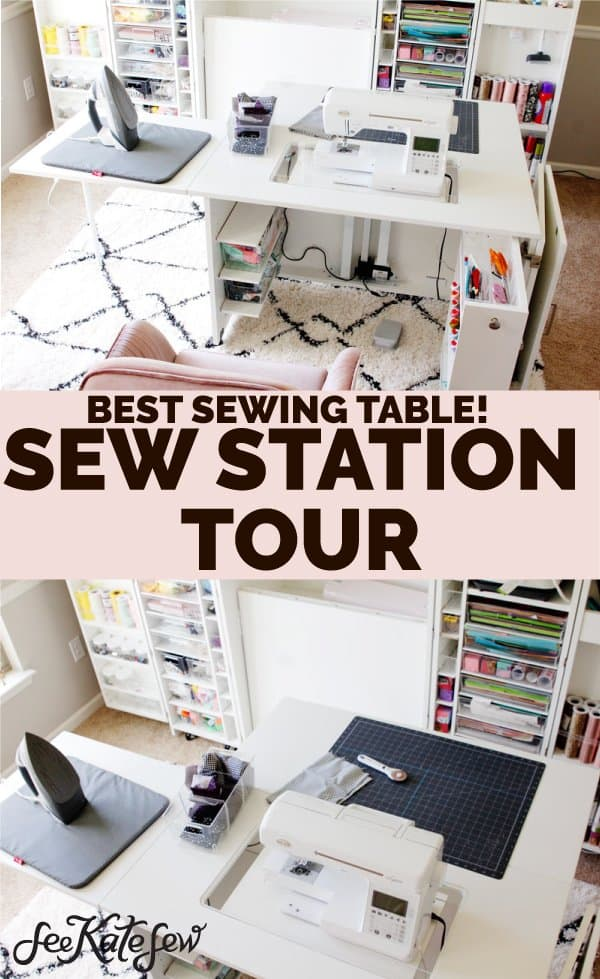 The Original Scrapbox Sew Station