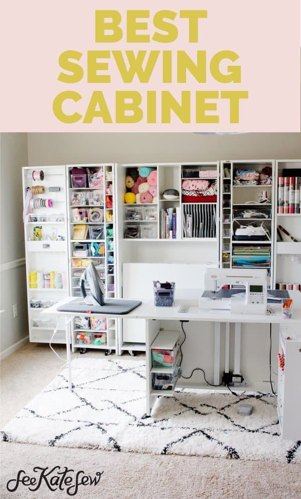 Awesome Sewing Cabinet | DreamBox + Sew Station