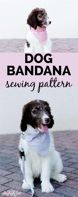 Dog Bandana Bib Sewing Tutorial | See Kate Sew