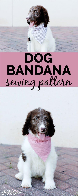 Make a puppy bandana
