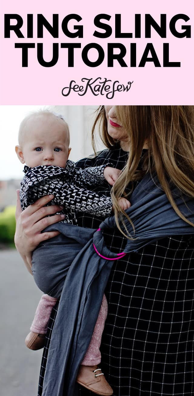 Ring Sling Tutorial with Fabric Dimensions