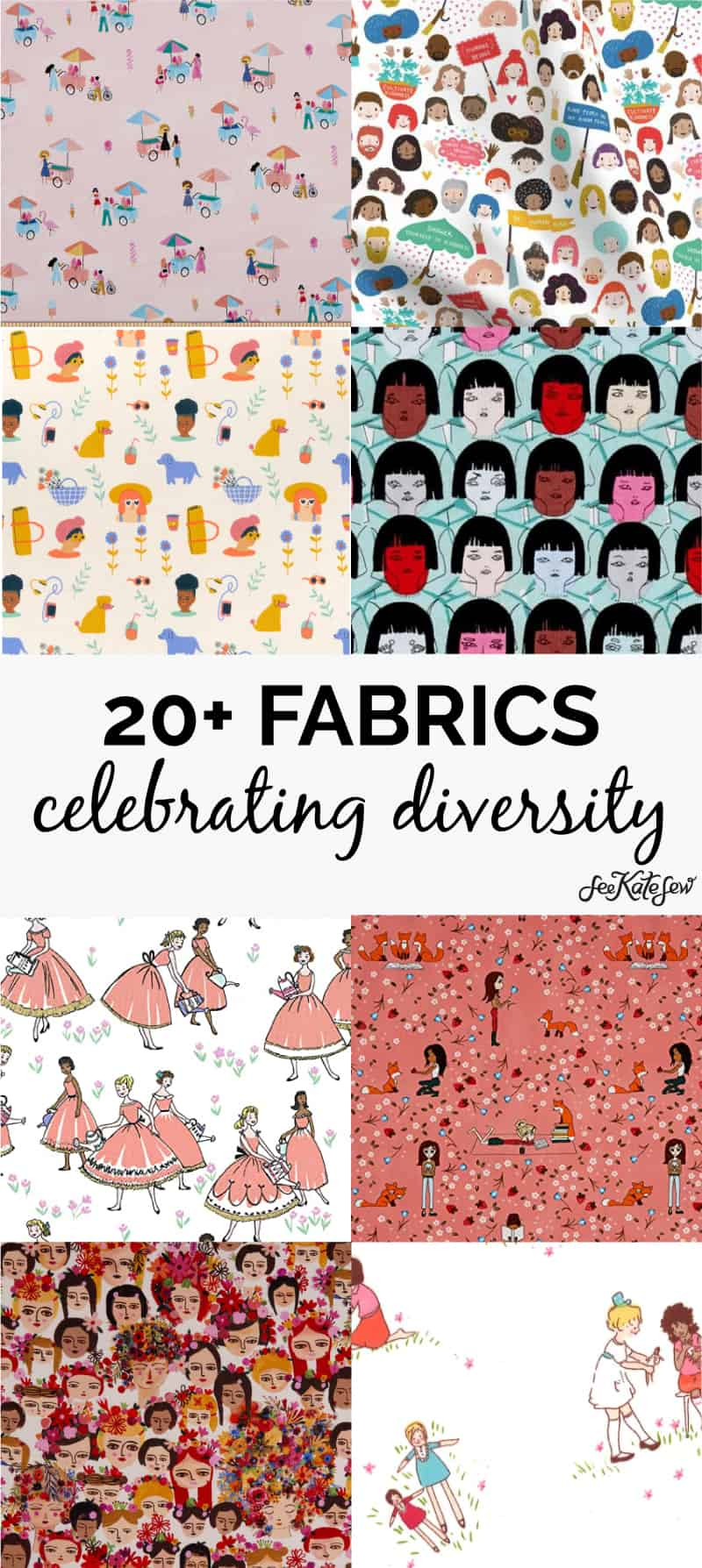Fabrics Celebrating Diversity in Sewing