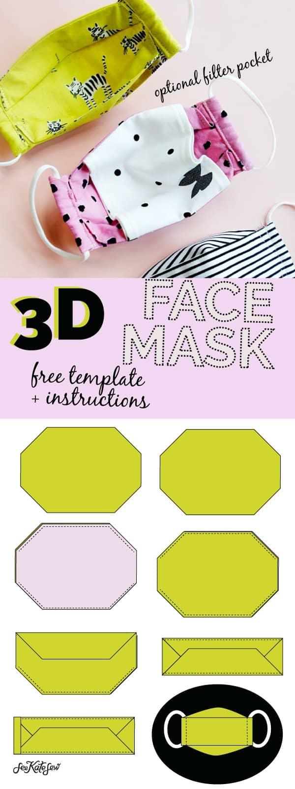 Free Mask Sewing Pattern