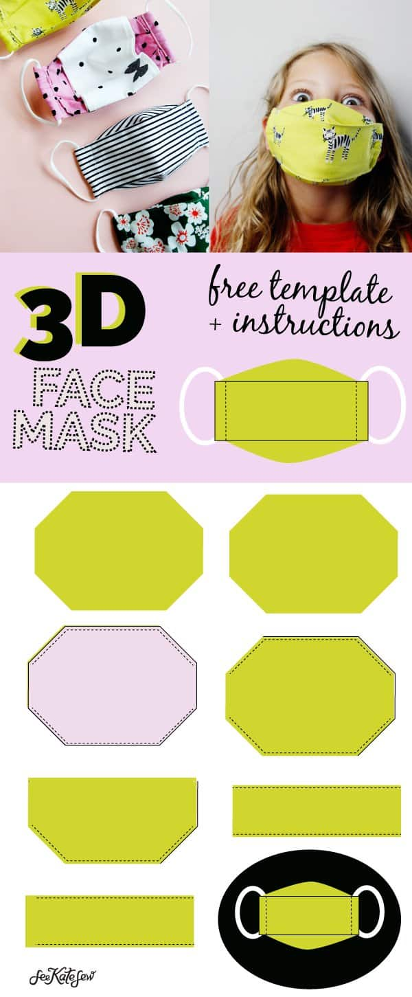 How to sew a mask that is comfortable to wear