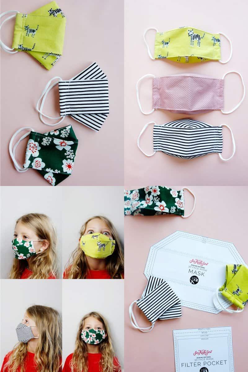 3D Mask Adults + Kids