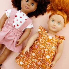 """18"""" doll skirt pattern 