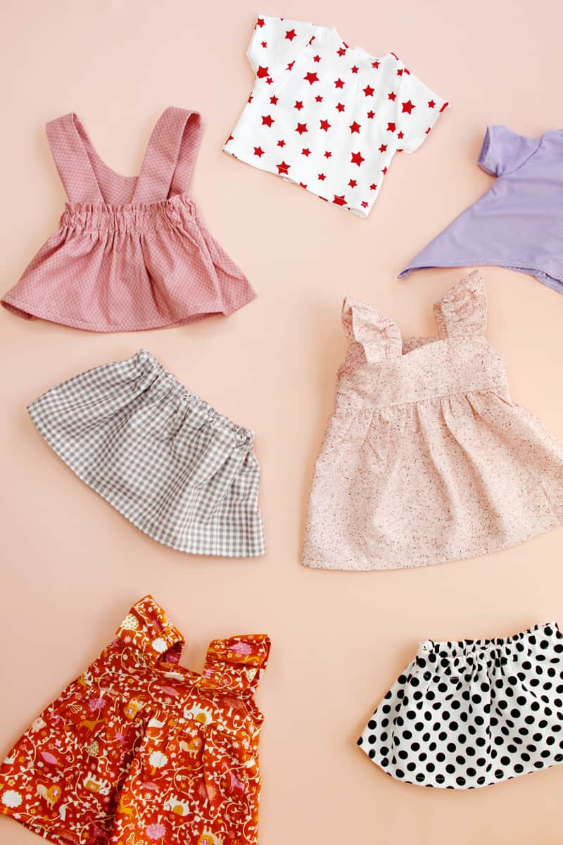 "SEW cute! Sew a whole collection of 18"" doll clothes!"