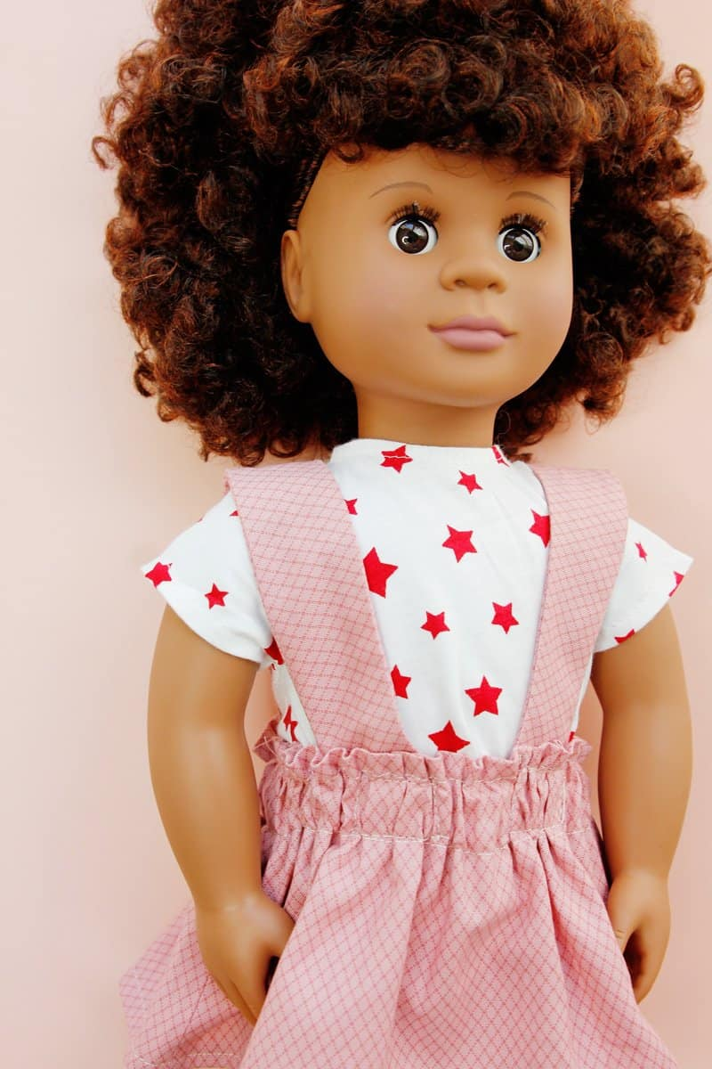 18 doll clothes patterns