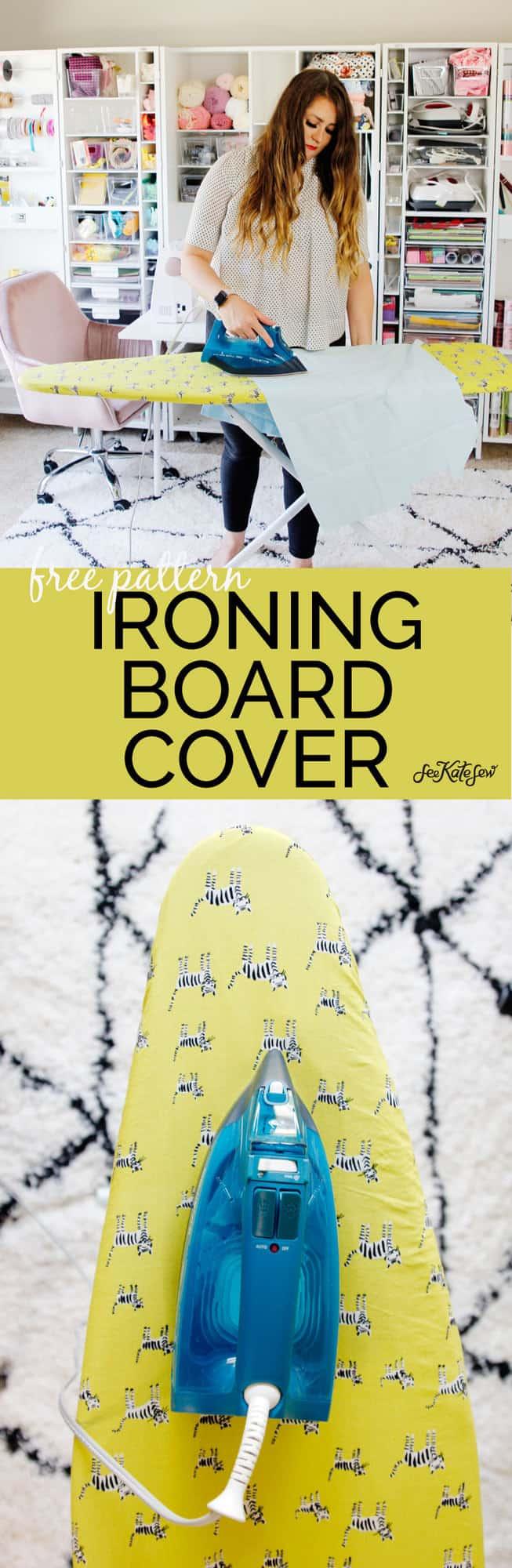 Ironing Board Cover Pattern PDF | See Kate Sew