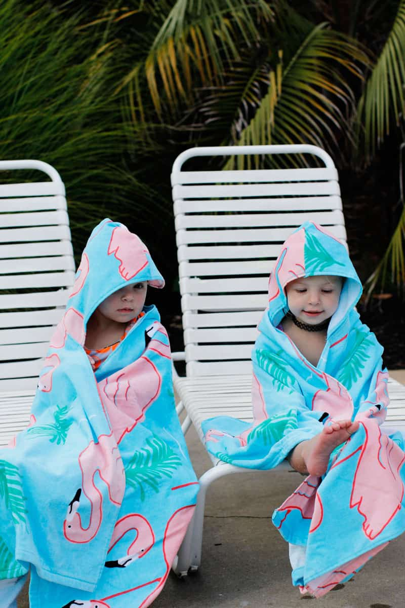 Hooded Beach Towel Pattern Tutorial