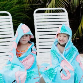 Hooded Towel Sewing Pattern