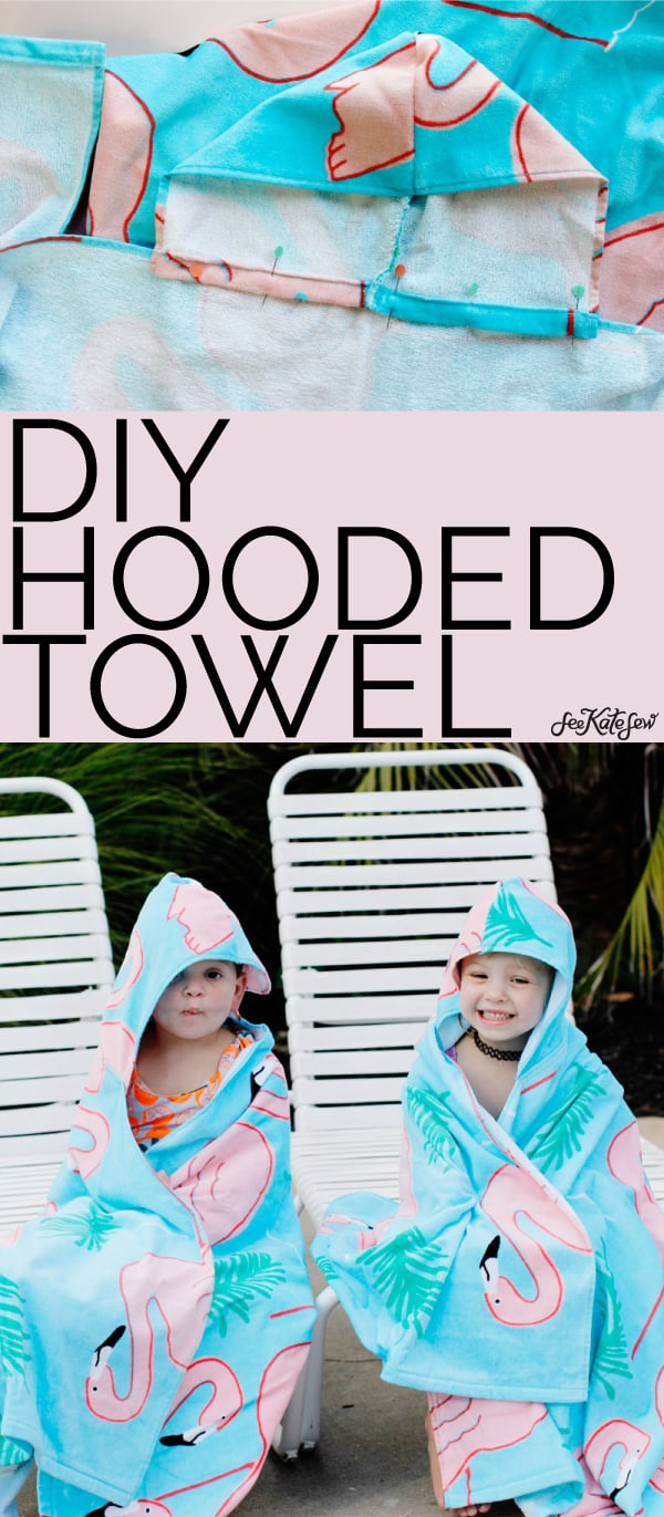 FREE DIY Hood Towel