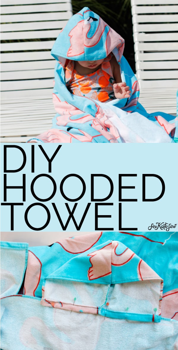 DIY Hooded Towel | See Kate Sew
