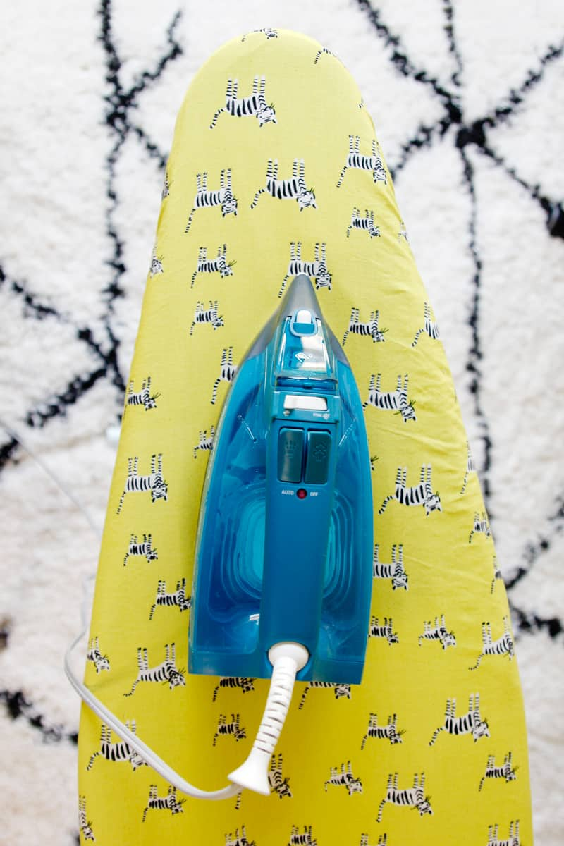 Free Ironing board cover pattern
