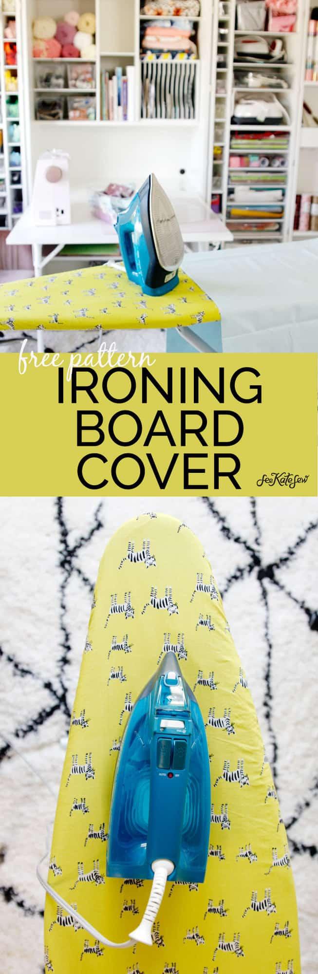 Free Pattern Ironing Board | See Kate Sew