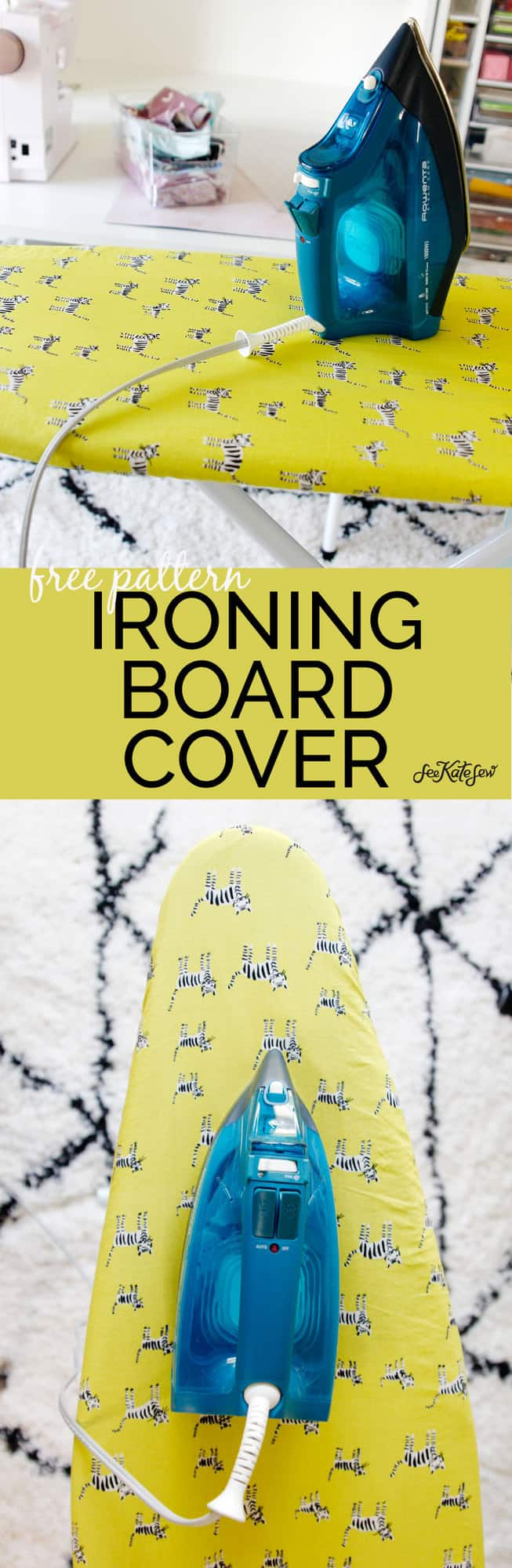 Sew a replacement ironing board cover
