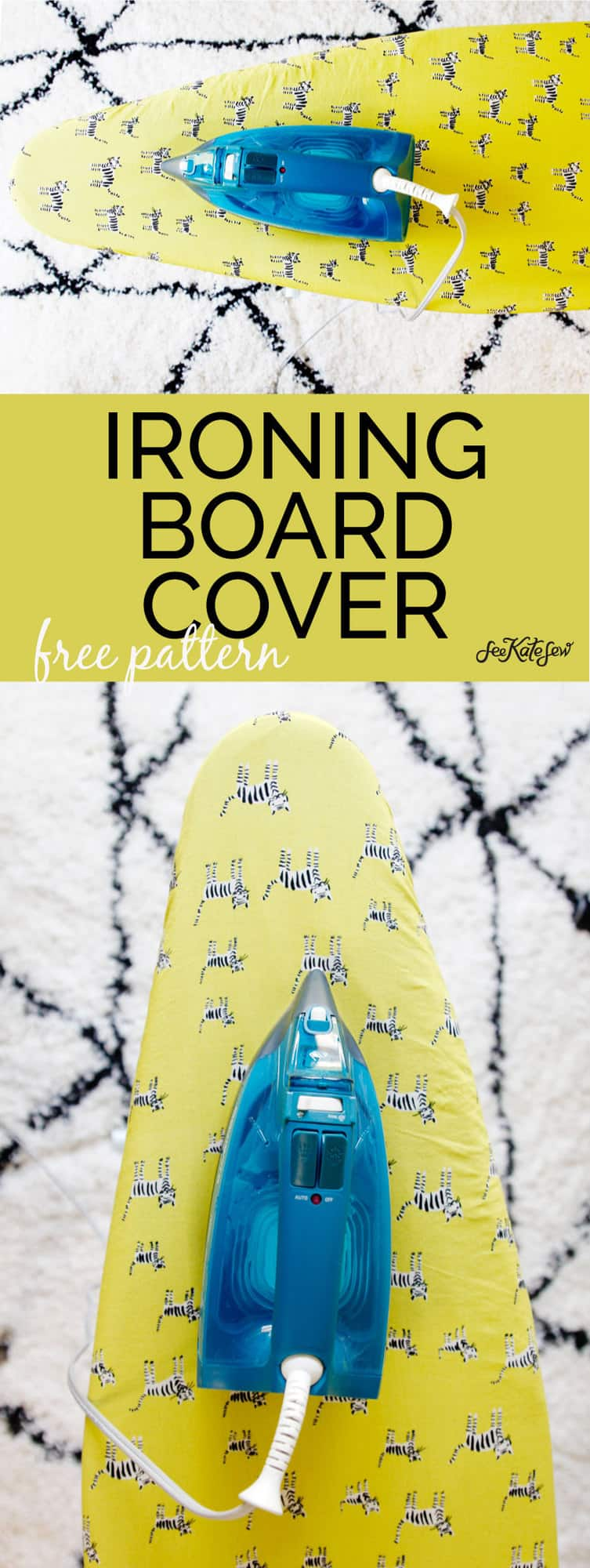 DIY Ironing Board Cover | See Kate Sew