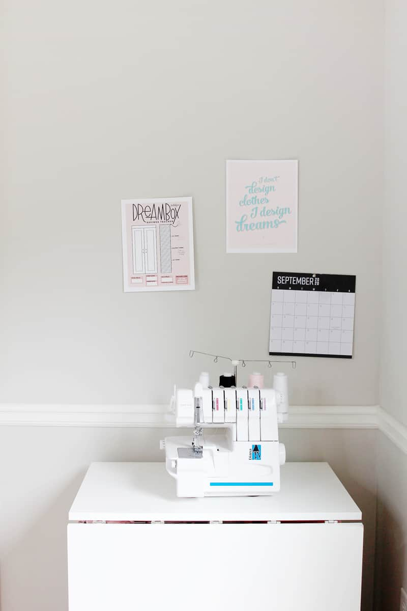 Tiny Sewing Space | Dream Cart | Create Room DreamCart