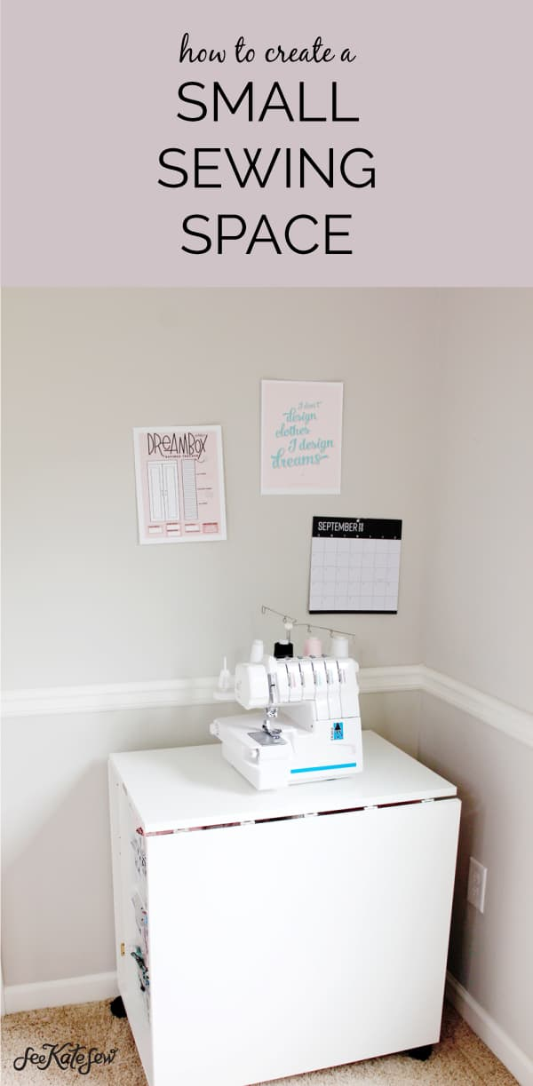 Create a small crafting space with the DreamCart