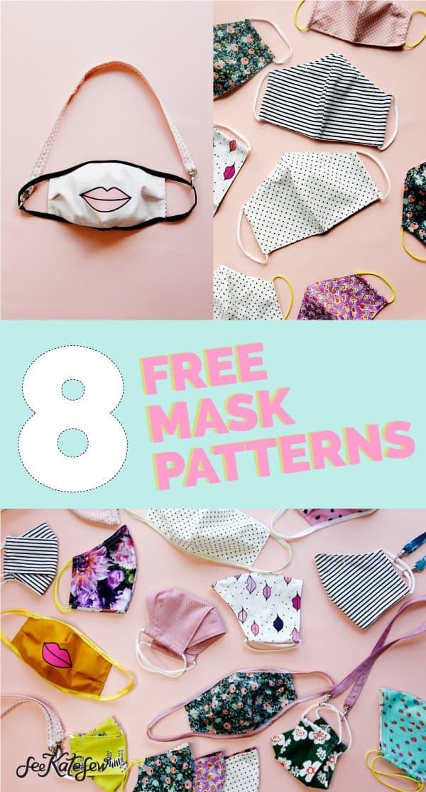 Sew 8 Mask Patterns