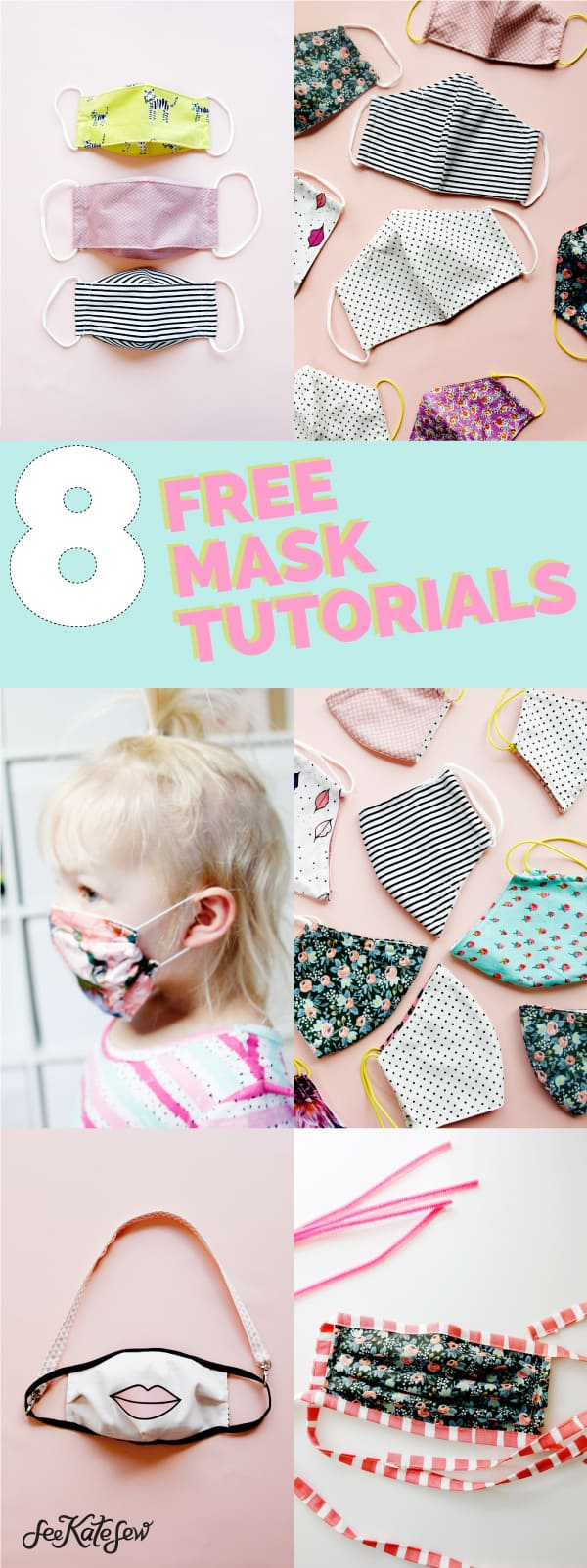 face mask sewing tutorials