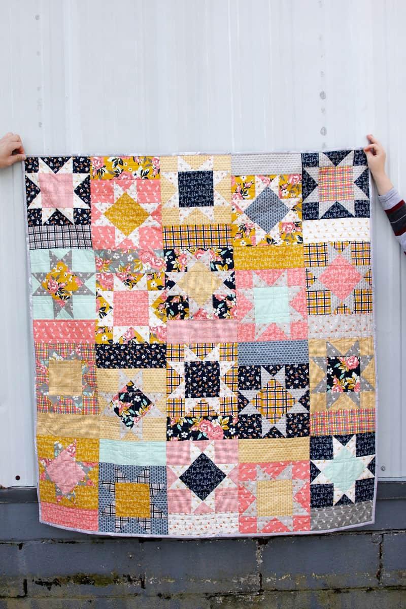 Happy Patch Quilt Pattern