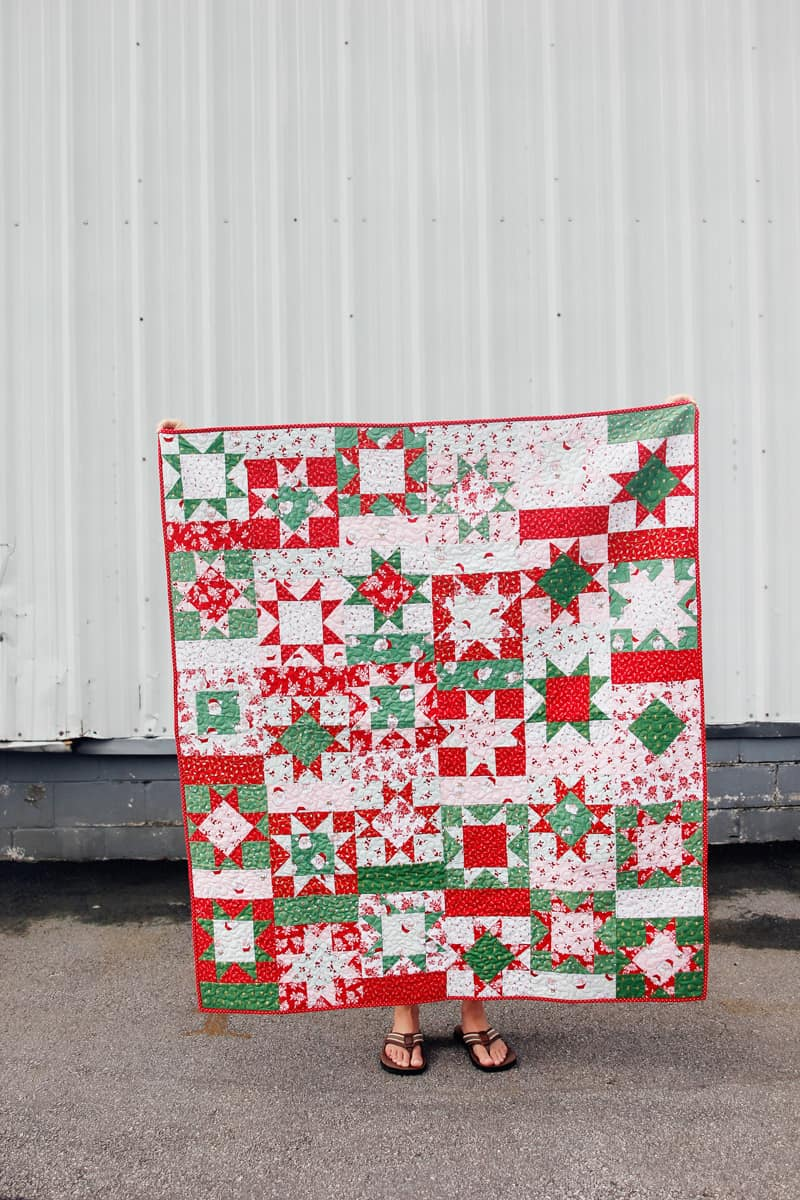 Santa Clause Lane Fabric