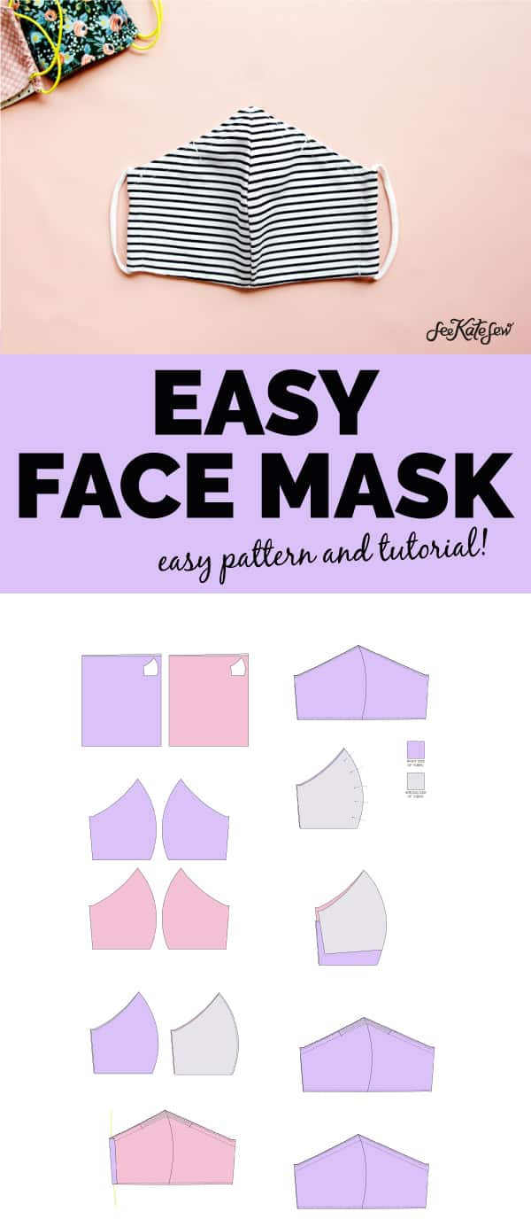 How to make your own face mask easy