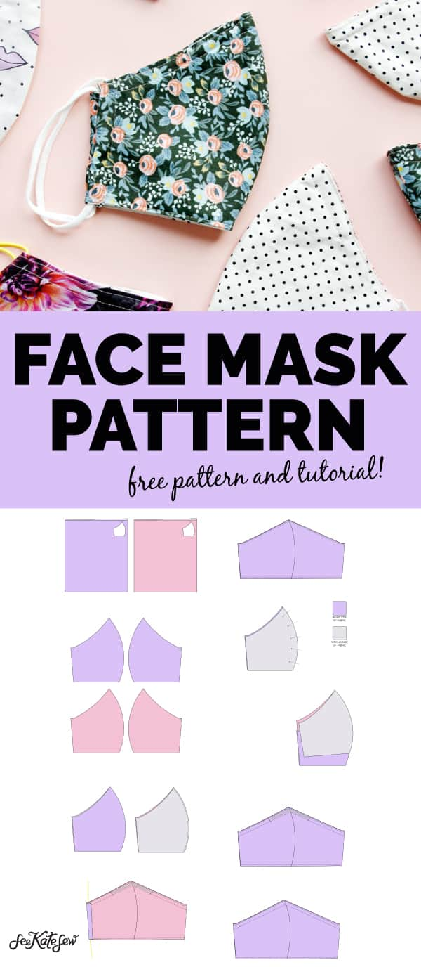 Printable Template Face Mask