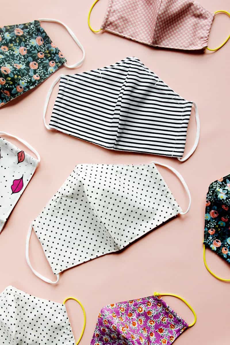 DIY Face Mask Sewing