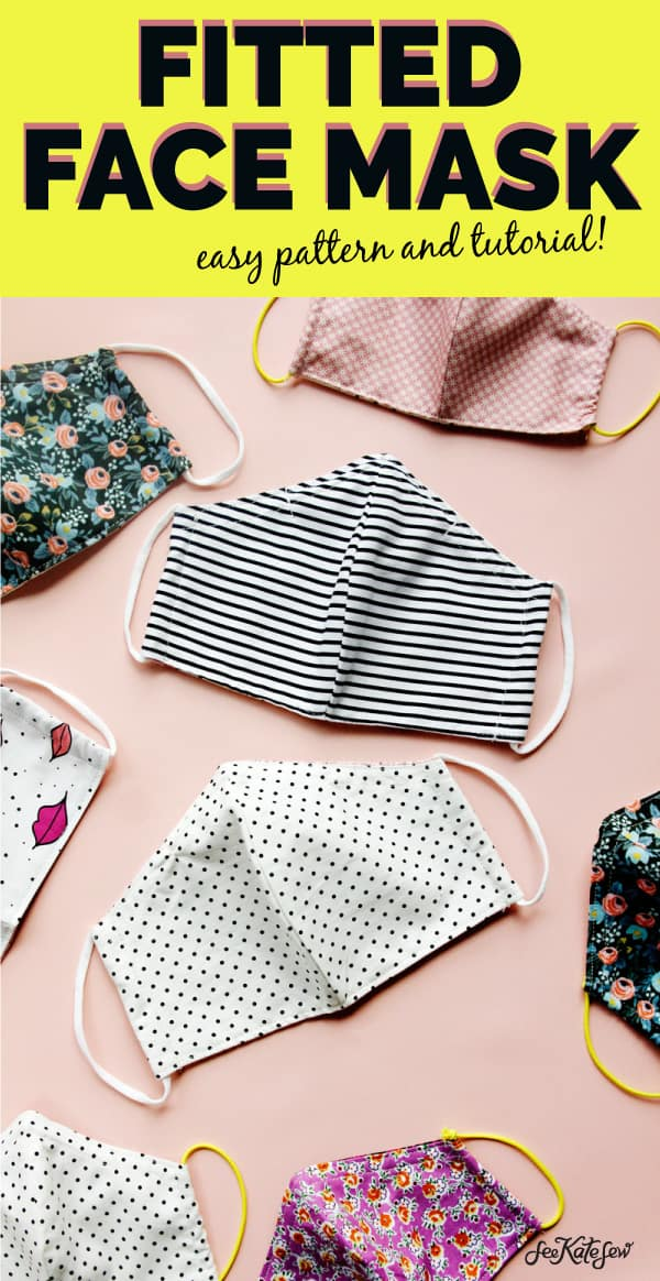 DIY Face Mask Sewing Pattern