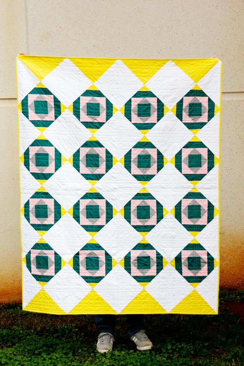 Jade Quilt Pattern of the Month