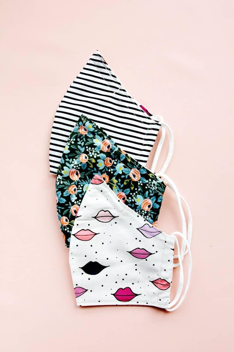 Sewing a Mask | 8 free mask sewing patterns to make