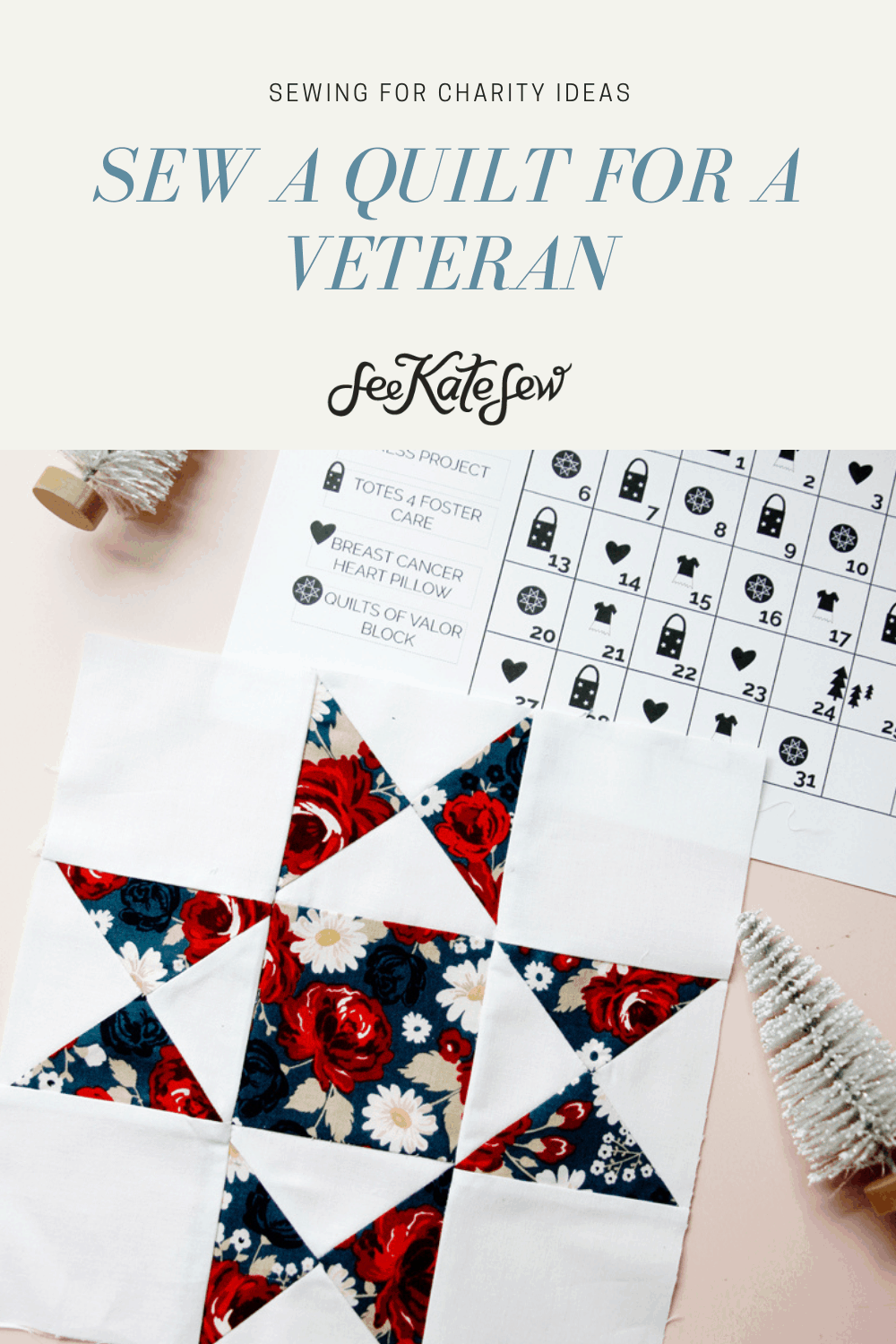 Sew a Quilt for a Vet